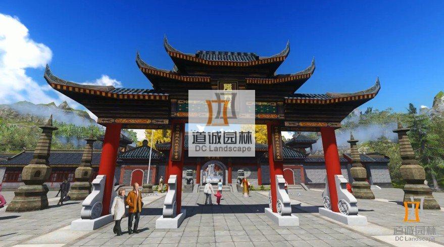 山东长岛县隆兴寺景观规划设计